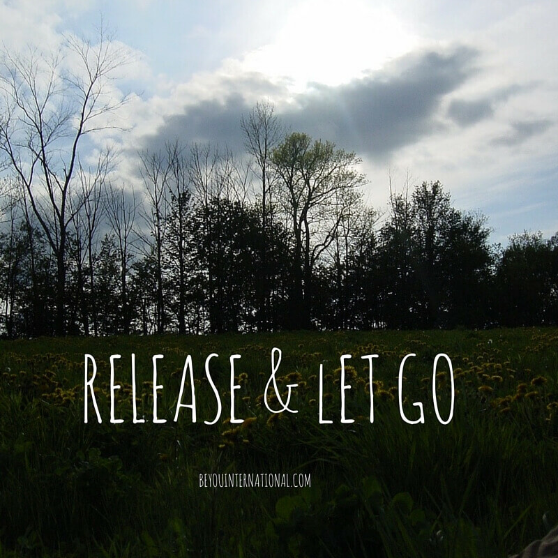 To Release and Let Go